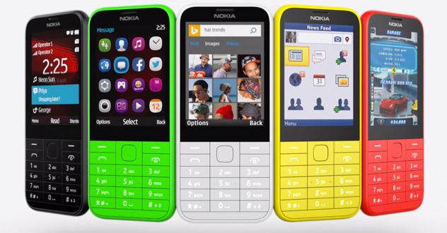 Nokia 225 met twee SIM kaarten