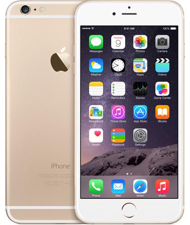 iPhone 6 plus 64GB goud