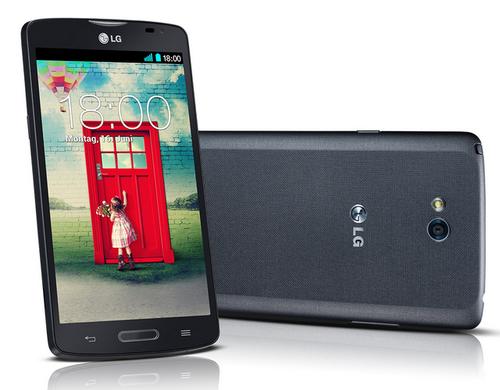 LG L80 achterkant