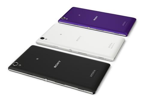 Sony Xperia T3 achterkant